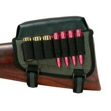 Ankunfts-tourbon Jagd Gun Zubehör Rifle Shotgun Hinterschaft Wange Rest Pad Riser Patronen Munition Halter für Links Hand Schießen