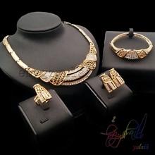 Ensemble de bijoux fantaisie Yulaili ensemble de bijoux splendeur