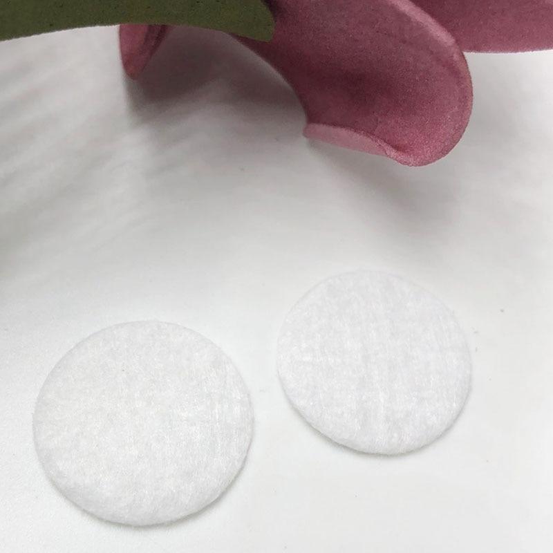 Los 50 Uds fieltro apliques circulares de 35mm-Color blanco envío gratis