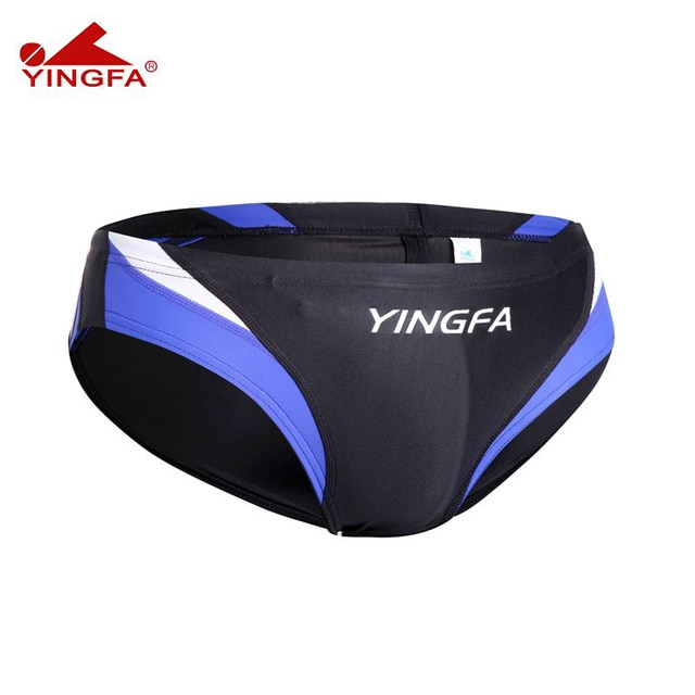 Yingfa 9462 men swimwear briefs classic low waist swimming trunks swimsuit mens swimming pants beach men shorts mens swim boxer