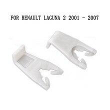 GRAMPOS DE PLÁSTICO DO CARRO PARA RENAULT LAGUNA 2 MK2 II KIT de REPARO do REGULADOR DA JANELA DA FRENTE de ESQUERDA OU DIREITA 2001-2007