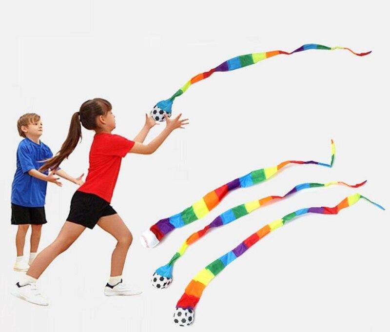 Bola de Meteor, cinta de juguete de entrenamiento con sentido jardín de infancia, pelota de resistencia al viento, pelota suave, juguetes para niños, pelota para lanzar al aire libre