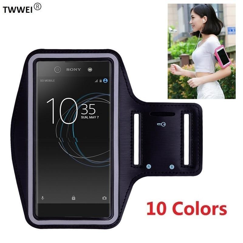 Funda deportiva para teléfono Sony Xperia XZ2 XZ3 XZ4 XZ1 X Compact XZ 1 10 XA2 XA1 Plus XA XA3 Ultra L1 L2 L3 funda