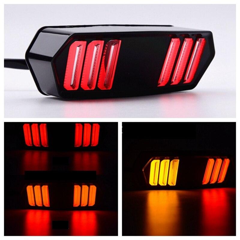 Luz trasera LED intermitente para motocicleta para HONDA GROM MSX125 MSX125SF