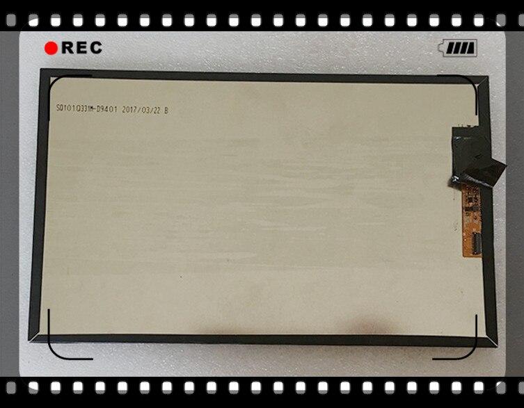 "Pantalla LCD de 10,1 "", pantalla FPC de 31 pines para SQ101FPCL331RI-02 SQ101FPCL331RI/r1-02, pantalla lcd Digital para tableta pc, panel de vidrio"