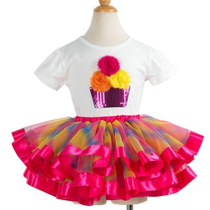 Fashion Dress Up Costume for The New Year for A Little Girls Skirt Set Clothes for Girls 2 3 4 5 6 7 8 9 10 Years