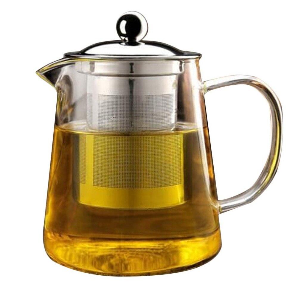 Tetera de hierro fundido yixing de cristal, té verde floreciente, 2018 matcha, taza de flores, calentador, ollas saludables, Oficina china antigua
