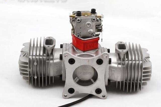 Motor de gasolina EME 120CC/motor de gasolina EME120 para avión de gasolina modelo RC, EME-120, EME120cc, EME 120 CC sin arranque