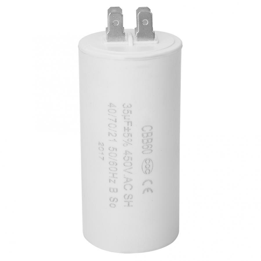 CBB60 respectueux de lenvironnement 4 broches moteur démarrage condensateur 450V 35uf ESR 0.2 pour appareil