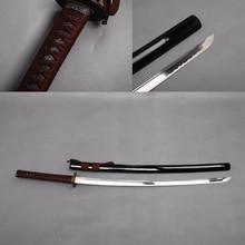 Épées de katana réel pas cher à vendre épées de katana espada katanas samouraï japonais katana en acier au carbone forte bushido pleine tang