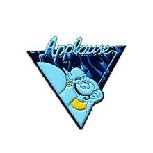 Aladdin et la lampe magique broche émail broches et broches épinglette sac à dos sacs Badge vêtements décoration cadeau pour les femmes