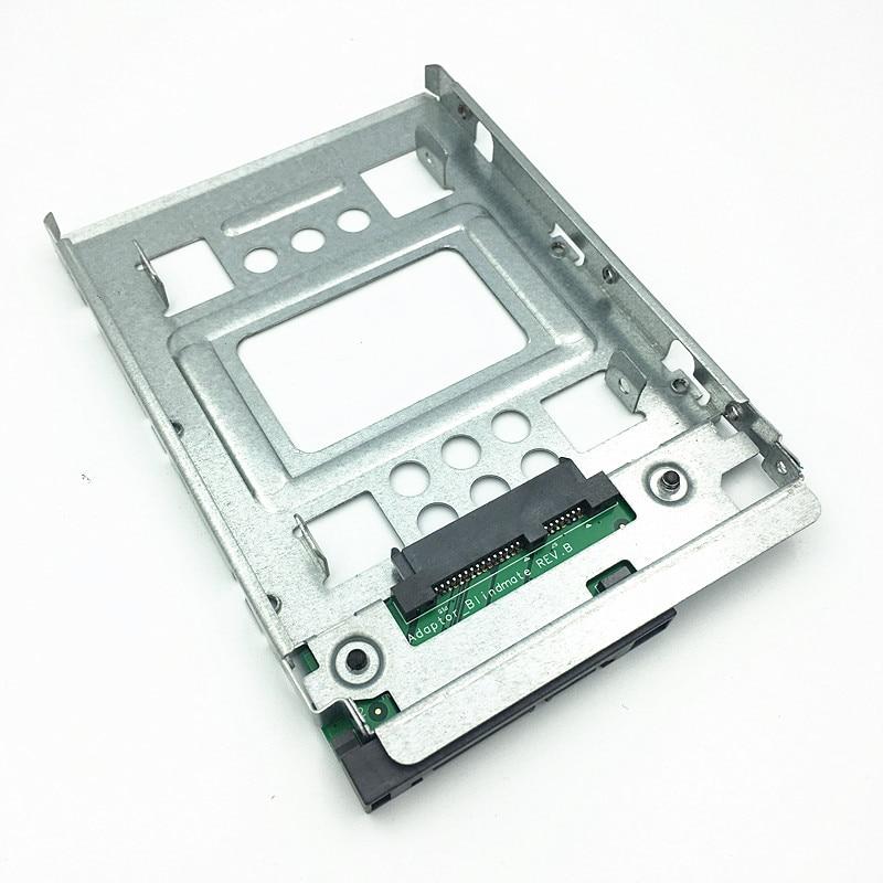 "4 paquetes de 2,5 ""SSD a 3,5"" SATA adaptador bandeja convertidor SAS HDD Bracket Caddy 654540-001, envío gratis (paquete de 4)"