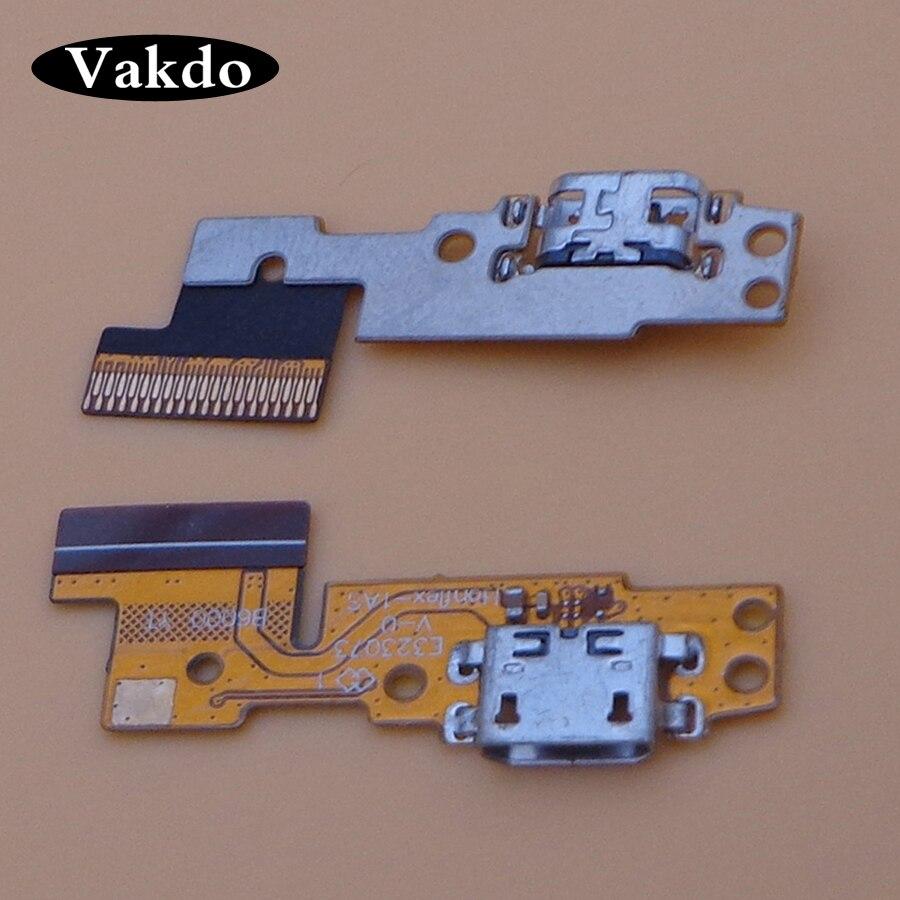 1pc For Lenovo Tablet Pad Yoga 8 B6000 Blade 8_USB_FPC_H301 Micro USB Charging Port Charger Dock Plug Connector Flex Cable Board