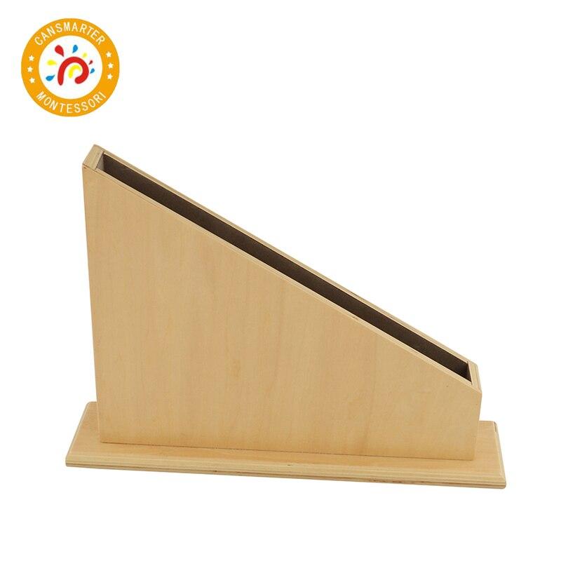 Montessori materiales Montessori de madera soporte para numérico barras juguete de los niños de matemáticas bebé ayuda de enseñanza juguete del bebé