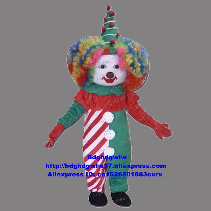 Disfraz de payaso, Joker, gracioso, mascota, personaje de dibujos para adultos, actividad estudiantil, promoción de negocios, zx79