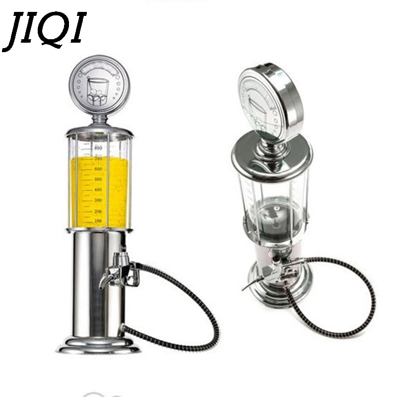 JIQI máquina de cerveza manual, dosificador de vino para bebidas, separador, mini bomba de agua potable con una sola pistola, vasos de Alcohol para jugo, para bar o fiesta