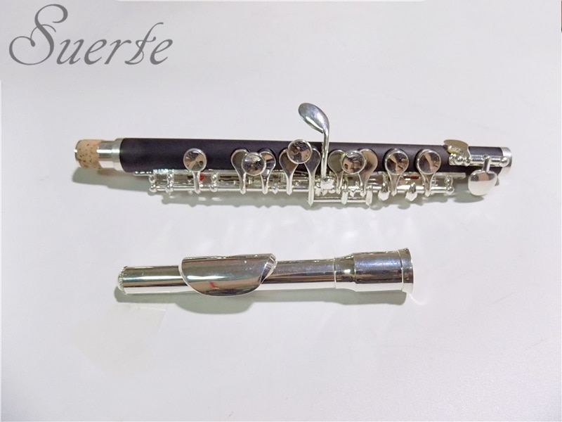C key Piccolo Flute Composite wood piccolos Silver plated keys with Hard Case woodwind Musical instruments professional enlarge