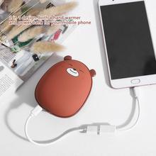 Портативная мини USB грелка для рук перезаряжаемая зимняя ручная нагревательная плита с карманным питанием нагреватель Электрический для домашнего путешествия