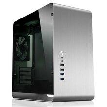 Чехол для компьютера JONSBO UMX3 внутренний стальной внешний алюминиевый корпус поддерживает Материнские платы MicroATX USB3.0