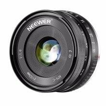 Neewer 32mm F1.6 Large Aperture Manual Prime Fixed Lens APS-C For Sony E-Mount Digital Mirrorless Camera A7III A9 NEX 3 3N 5 NEX