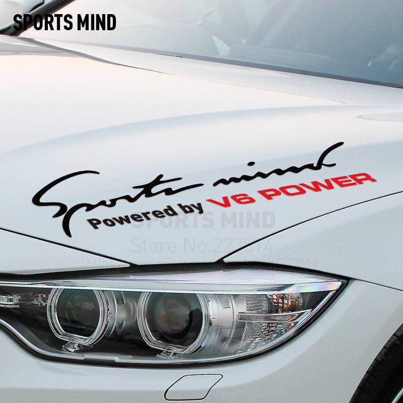 Pegatina deportiva para coche, estilo para bmw, honda, audi, mercedes, toyota, ford, nissan, subaru, accesorios