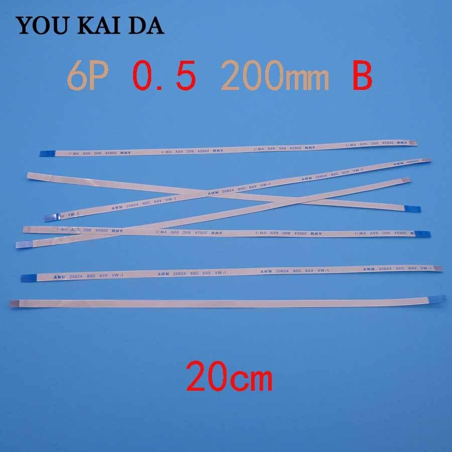 2 шт. гибкий кабель FFC FPC для Asus A550 A550C X550 X550V X550VC X550C X550CC 6-контактный гибкий кабель питания 20 см