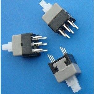 Compras gratis 30 piezas 6 Pin 8,5*8,5mm Micro interruptor interruptores de prensa en/de la cerradura. venta caliente