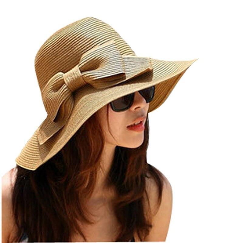 Sleeper #501 2019 nueva moda Moda Bohemia verano disquete solar sombrero de paja de playa sombrero de ala ancha verano envío gratis