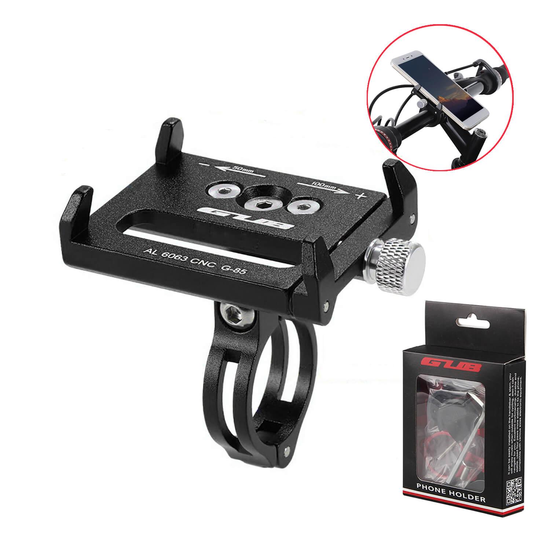 GUB bisiklet telefon tutucu gidon G-85 G-84 ayarlanabilir alüminyum alaşımlı bisiklet mobil montaj tutucu braketi bisiklet aksesuarları