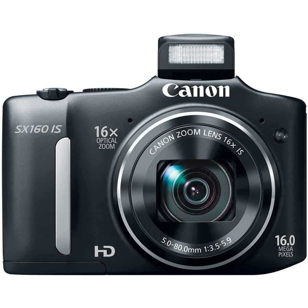 Usado, Canon SX160 es cámara Digital de 16,0 MP con Zoom estabilizado...