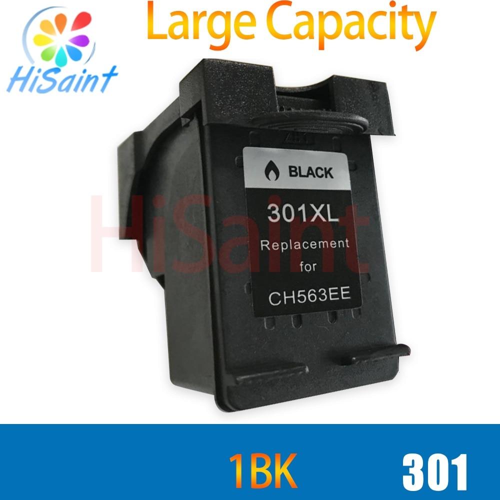 hisaint for hp 301XL 301 ink cartridge black compatible For Deskjet 301 1050 1000 2000 3000 3050 2050 2050s printer cartridge