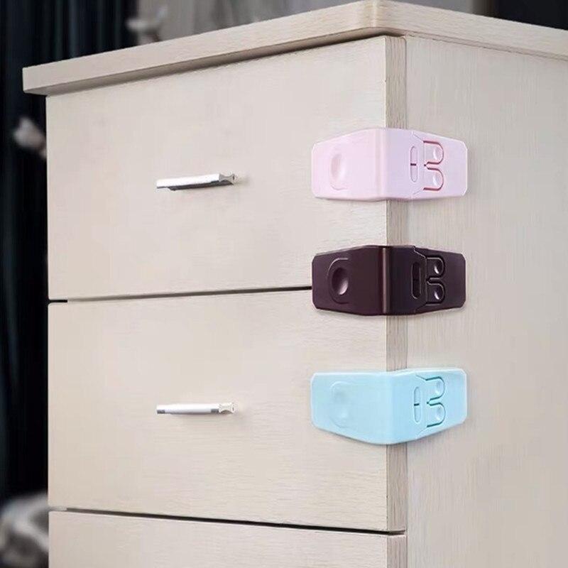 4 plastik bebek güvenliği koruma çocuk dolapları kutuları kilit çekmece kapı Terminator güvenlik ürünü bebek emniyet kilidi