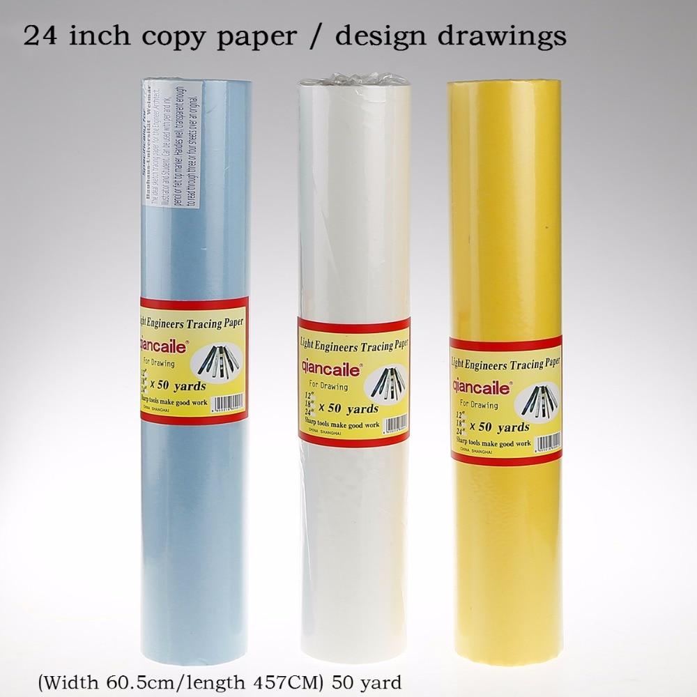 С выдвижной ручкой, размером 24 дюйма, сумка копировальная бумага прозрачная бумага отслеживание каллиграфии серной кислоты бумага авторуч...