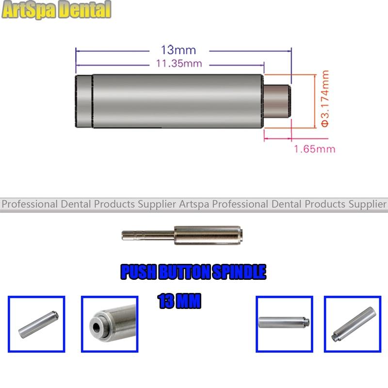 5 uds 13mm dental de empuje botón husillo para reparación pieza de Rotor