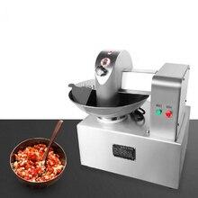 Commercial 5L capacité viande saucisse viande coupe bol Machine mélangeur de viande 80 kg/h multifonction Cutter broyeur
