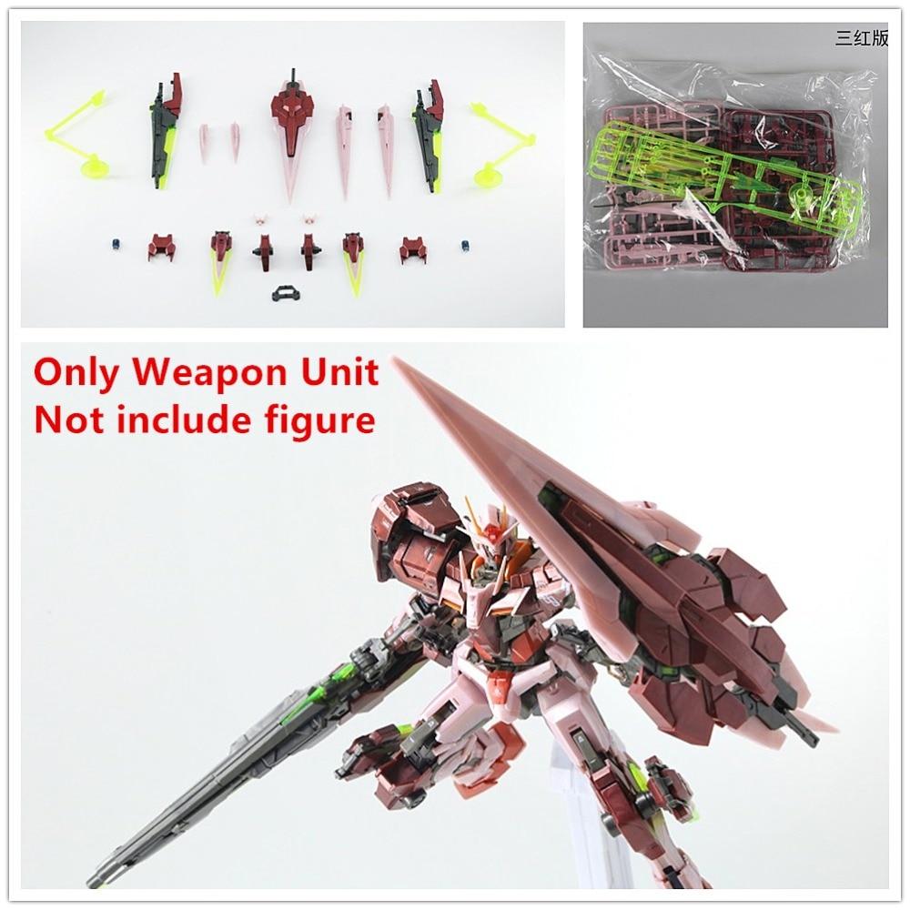 Effectswings EW G Weapon Unit modified parts for Bandai RG 1/144 GN-0000 Trans-AM Seven Sword 00R Gundam DE011