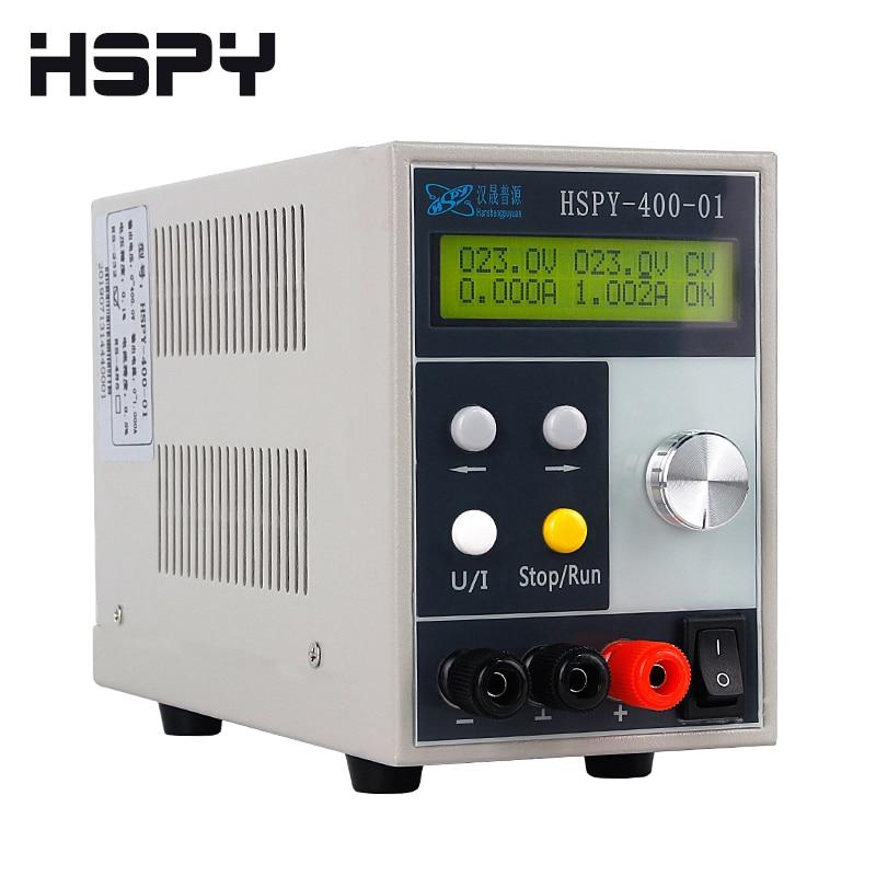 4-digits DC Lab Switching Power Supply Laboratory Adjustable 0.01V 0.001A Programmable Bench Source Digital HSPY 400V 200V 1A