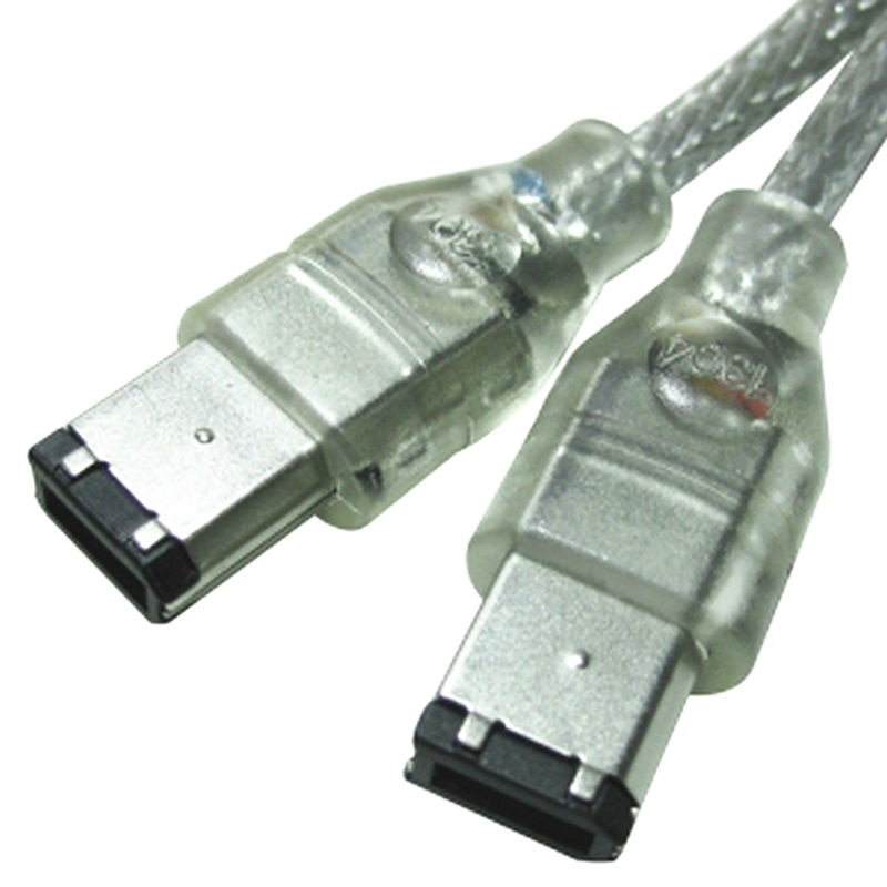 IEEE 1394 FIREWIRE 6PIN a 6 PIN iLINK CABLE para PC MAC...