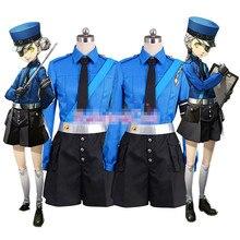 Persana 5 Cosplay P5 Justine Caroline cosplay costume uniform cloth