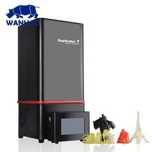 2018 New Version Wanhao D7 V1.5 3D Printer Duplicator 7 (D7) V1.5 DLP/SLA Priner 3D Machine + D7 BOX / Control BOX+ 250ml Resin