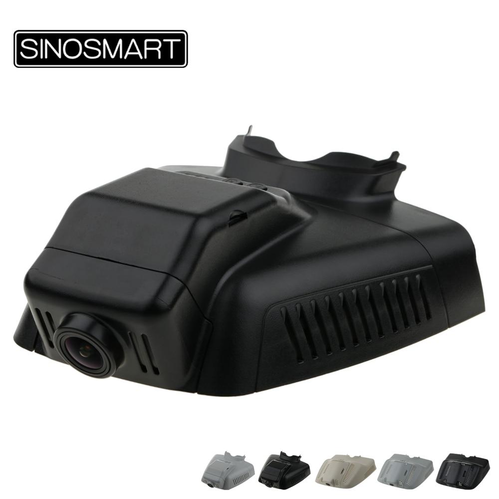 SINOSMART Novatek 96658 Car Wifi DVR for Mercedes-Benz GLK Class GLK X204 Deluxe Model General Model SONY IMX323