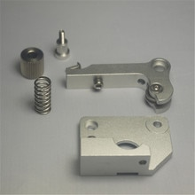 Wanhao/flashforge 3D Printer parts left hand aluminum metal MK9 Extruder Upgrading pack