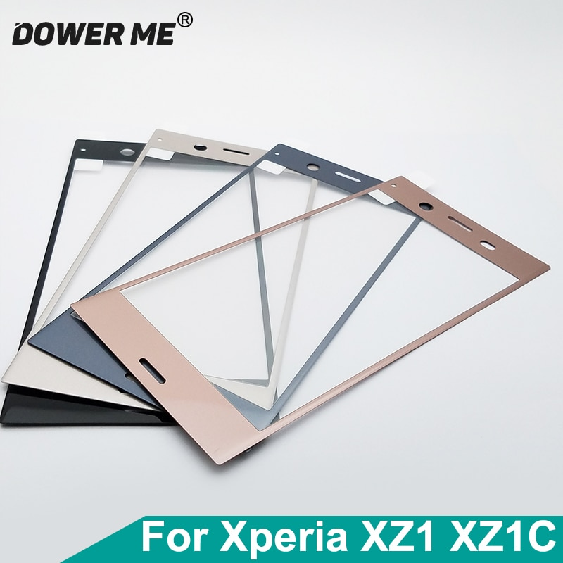 Dower Me 3D изогнутая мягкая кромка полностью приклеенная Защитная пленка для экрана из закаленного стекла для Sony Xperia XZ1 G8341 XZ1 Compact XZ1c