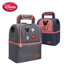 Sac à couches de séparation sec et humide   Véritable Disney Mickey Mouse, sac de maman, sac de voyage nourriture pour bébé, sac poussette soins