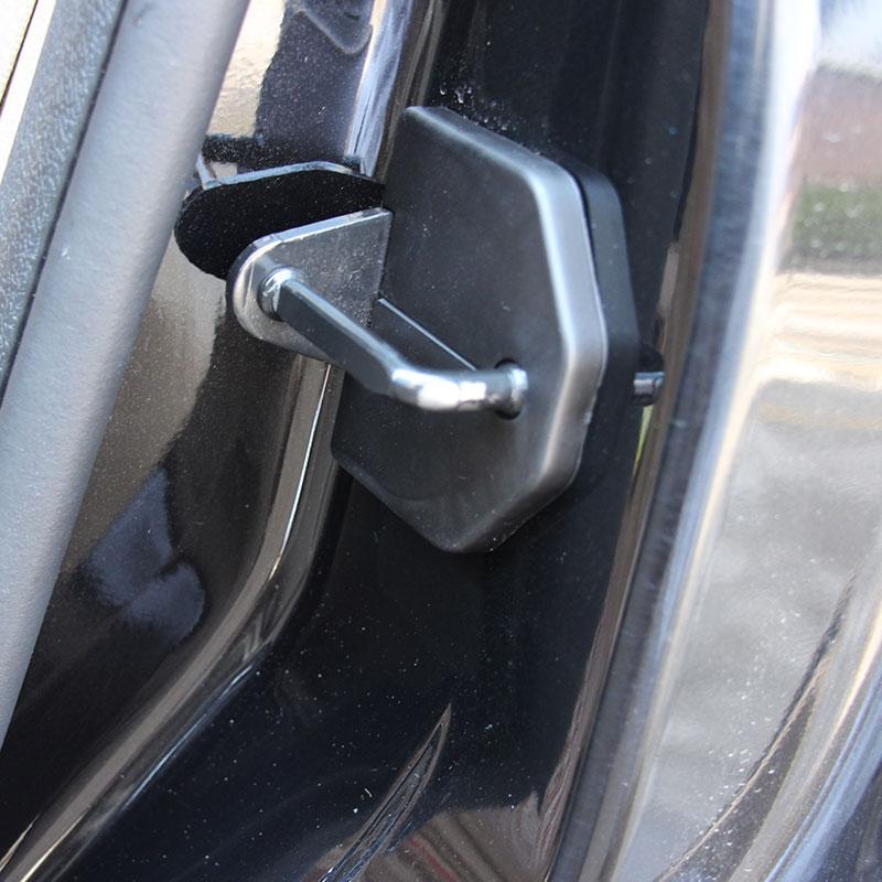 Cubierta para cierre de puerta de coche, cubierta protectora anticorrosiva, 4 Uds. Para Ford Focus 2 MK2 2005-2013, piezas de coche