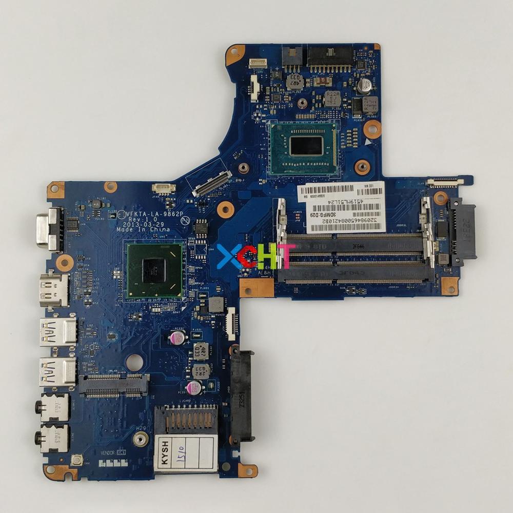 K000146620 VFKTA LA-9862P w I3-3217u CPU para Toshiba L40-A Series Laptop ordenador portátil placa base