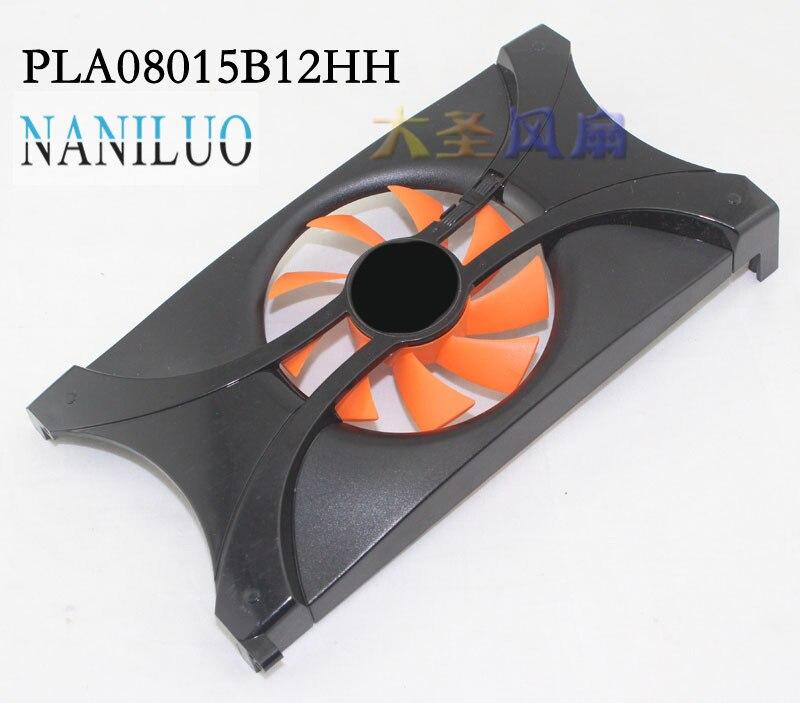 NANILUO Original PLA08015B12HH GPU refroidisseur ventilateurs PALIT GTS450 GAINWARD GTX550Ti carte graphique ventilateur de refroidissement