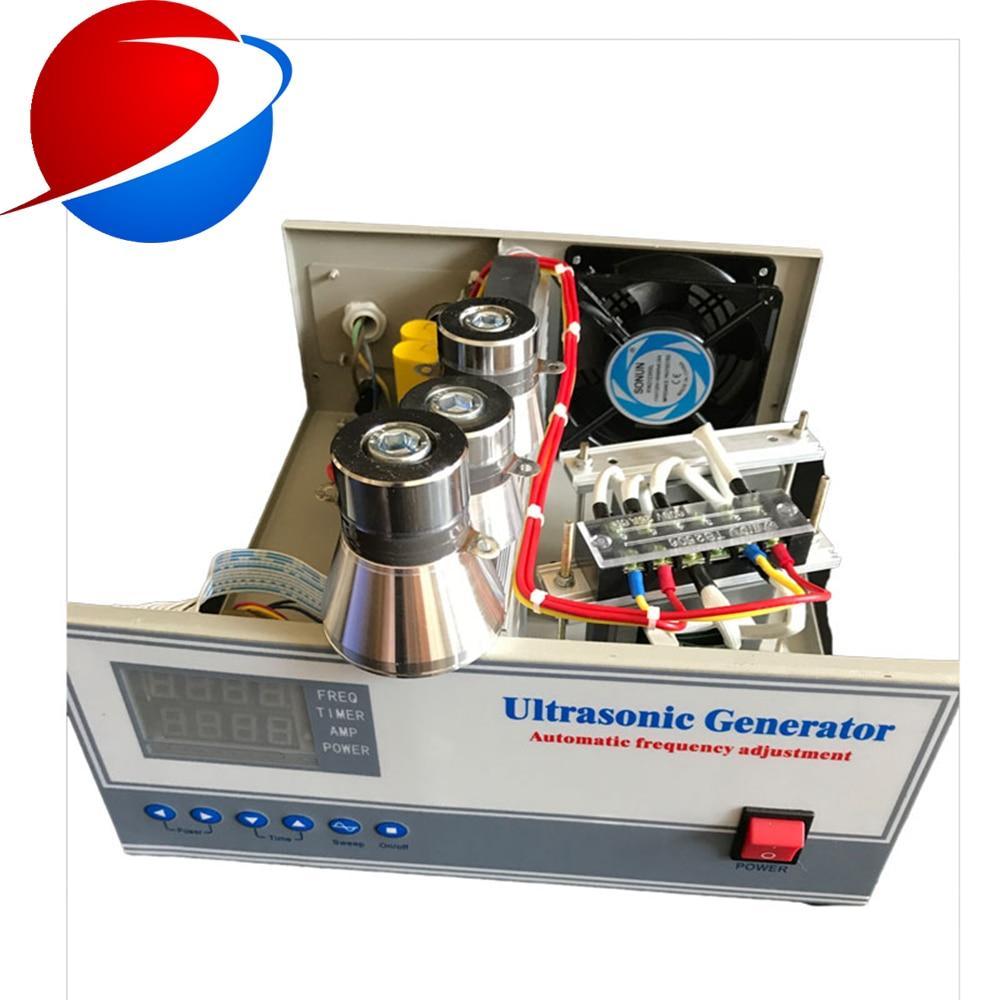 مولد اهتزاز بالموجات فوق الصوتية ، طاقة 3000 واط/40 كيلو هرتز/220 فولت ، مع محول تنظيف بالموجات فوق الصوتية