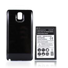 Batterie de téléphone étendue 6800 mAh + étui pour samsung Galaxy Note 3 Note3 N9000 N9005 N900A N9002 N900 Bateria de rechange