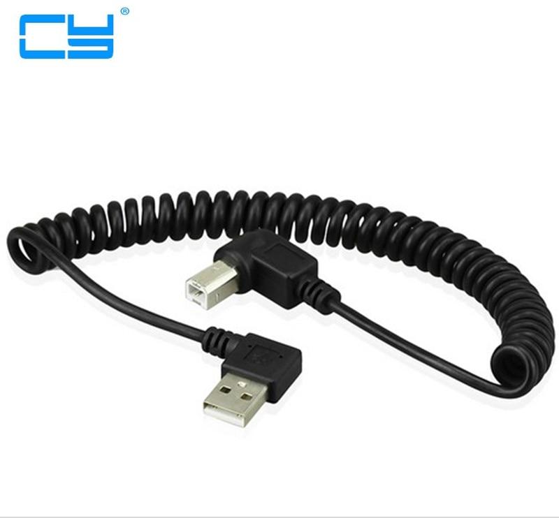 40 CM USB 2,0 macho para 4pin USB B tipo angulo derecho...